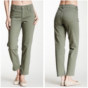 NYDJ Alisha Fitted Ankle Pant in Rosemary